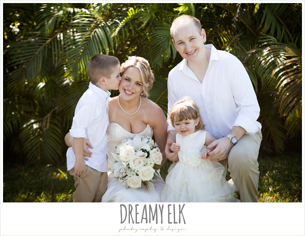 cute photo with ring bearer and flower girl, destination wedding, cozumel {dreamy elk photography and design} photo