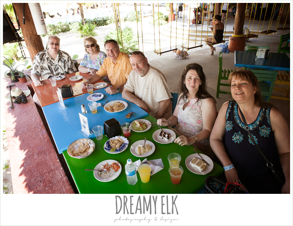 wedding guests on the beach, destination wedding, cozumel {dreamy elk photography and design} photo