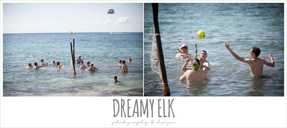 beach volleyball, destination wedding, cozumel {dreamy elk photography and design} photo