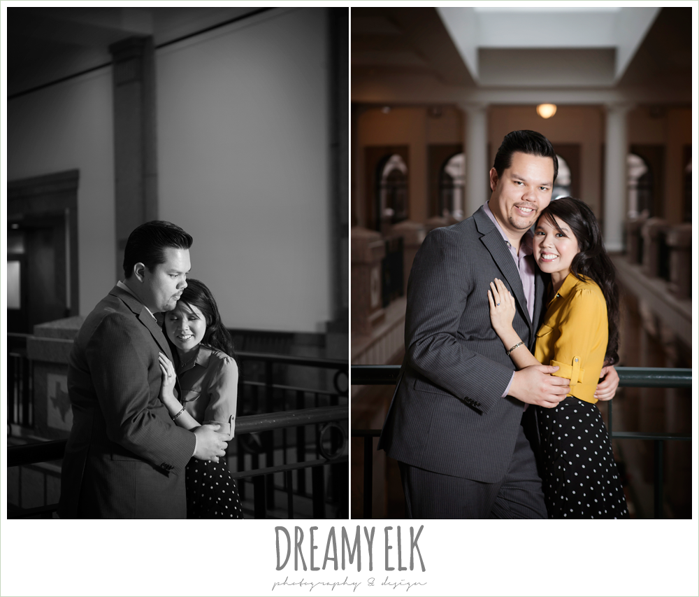 texas state capitol engagement photo {dreamy elk photography and design}