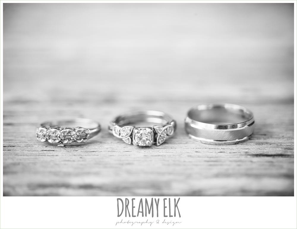 vintage wedding rings, le jardin winter wedding {dreamy elk photography and design}