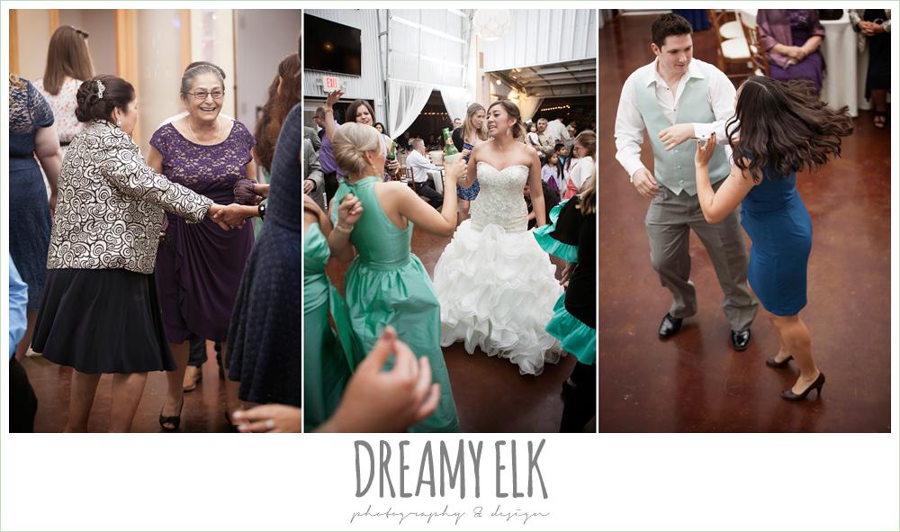 guests dancing at reception, terradorna wedding venue, austin spring wedding {dreamy elk photography and design}