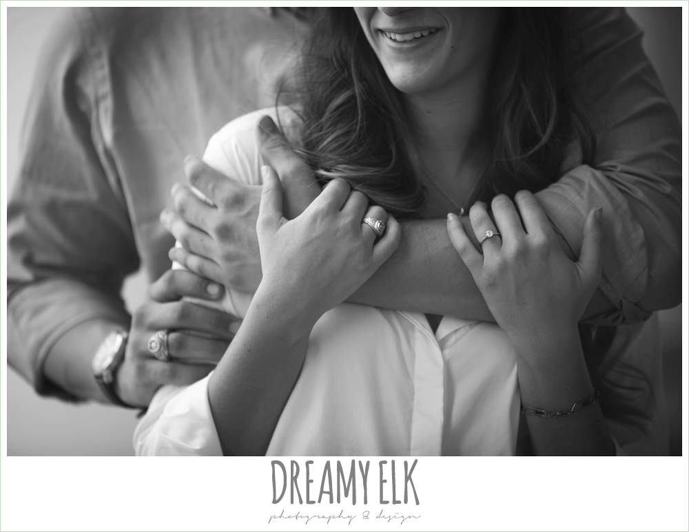 solitaire engagement ring, engagement photo, texas {dreamy elk photography and design}