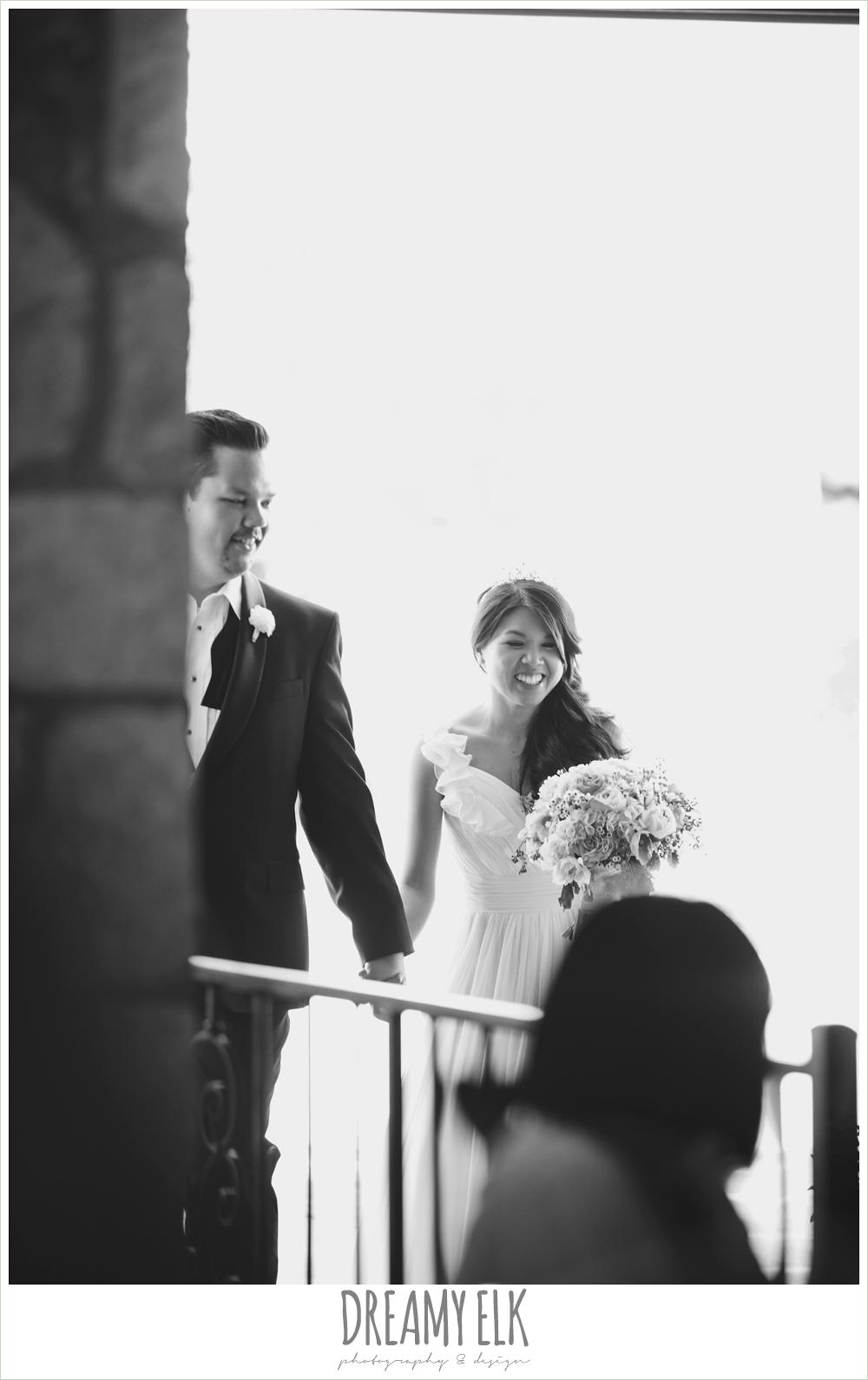 bride and groom reception entrance, la hacienda, dripping springs, texas {dreamy elk photography and design} photo