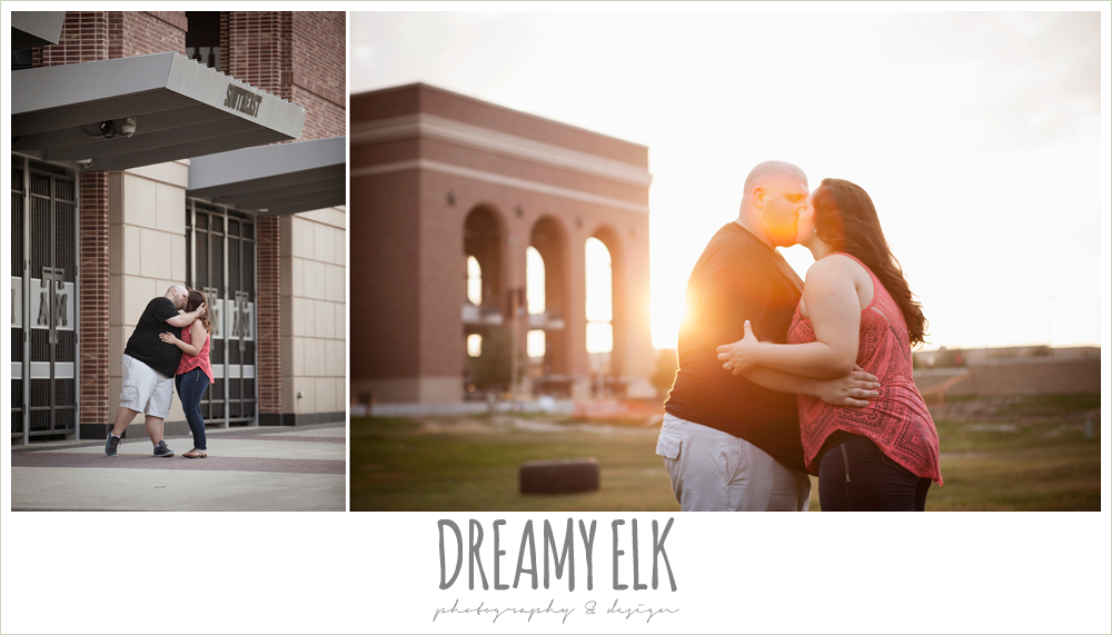 kyle field engagement photo {dreamy elk photography and design}