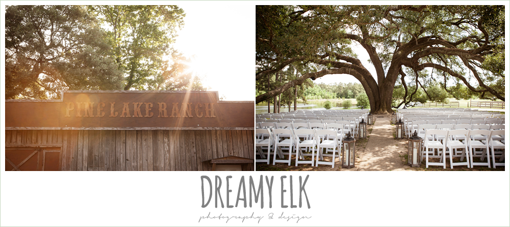 wedding under an oak tree, pine lake ranch, photo {dreamy elk photography and design}