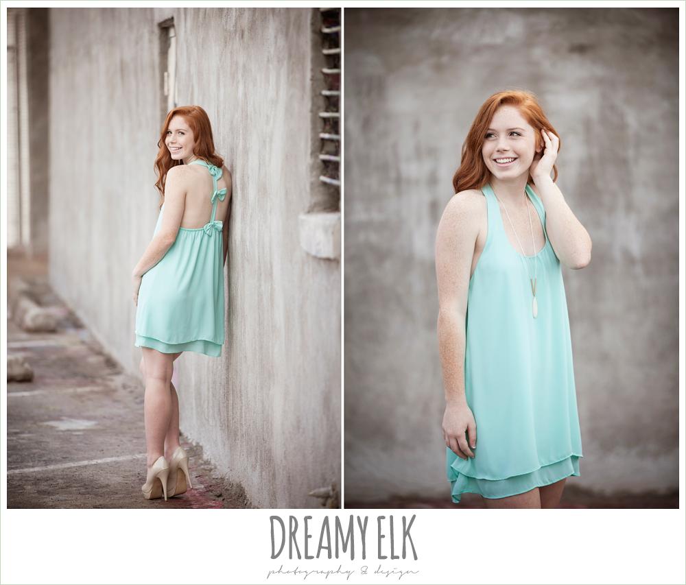 urban high school senior girl photo, deep ellum, texas {dreamy elk photography and design}