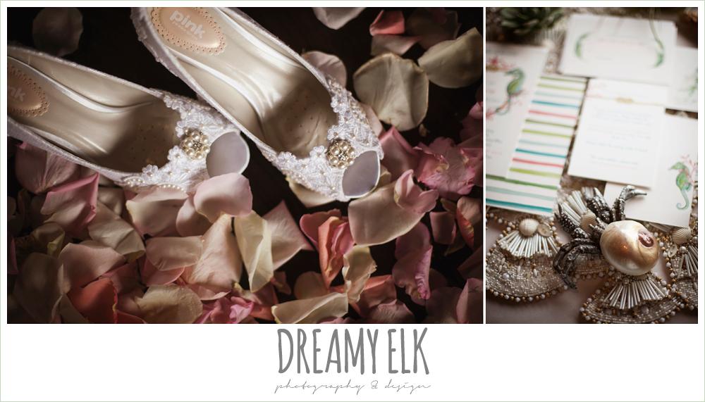 lace wedding shoes, nautical inspired wedding invitation suite, nautical theme wedding, horseshoe bay resort, photo {dreamy elk photography and design}