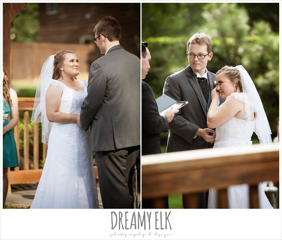 outdoor summer wedding, amber springs summer wedding photo {dreamy elk photography and design}