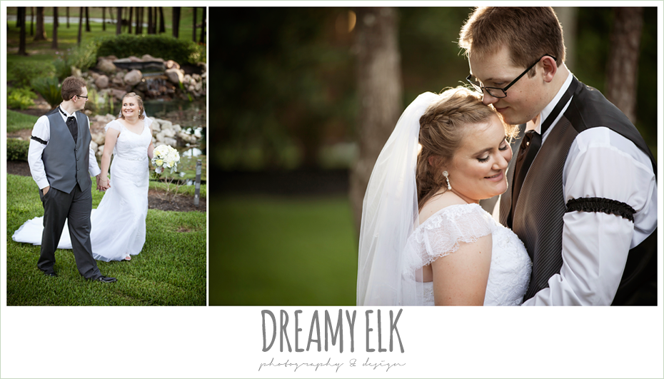 outdoor sunset bride and groom portraits, amber springs summer wedding photo {dreamy elk photography and design}