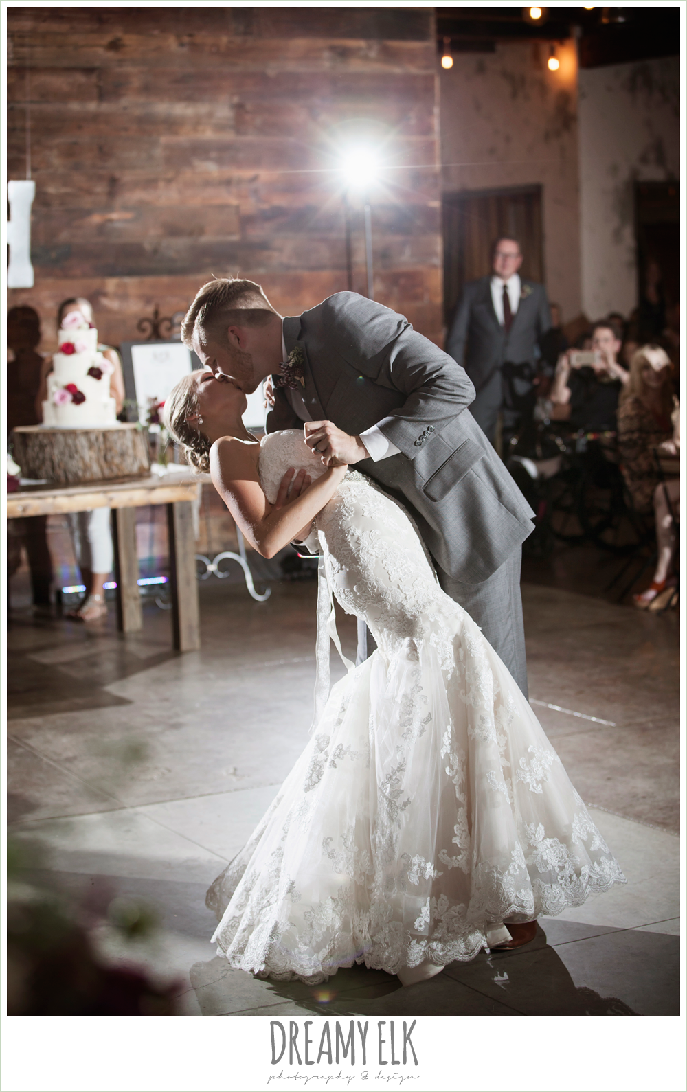 bride and groom first dance, the union on 8th wedding photo {dreamy elk photography and design}