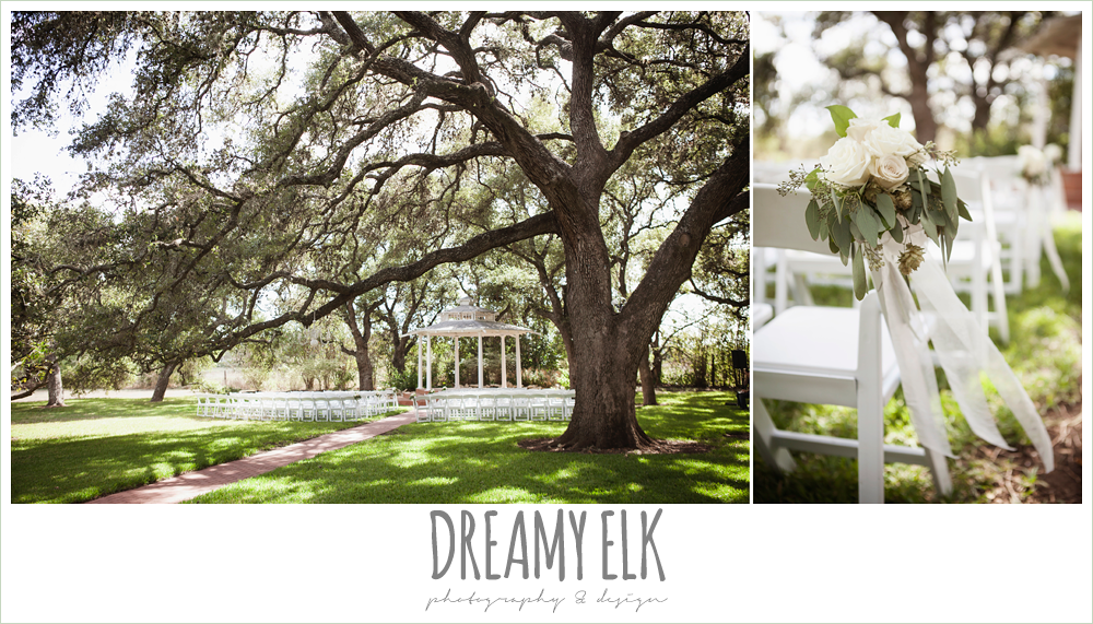outdoor summer wedding ceremony, the winfield inn, photo {dreamy elk photography and design}