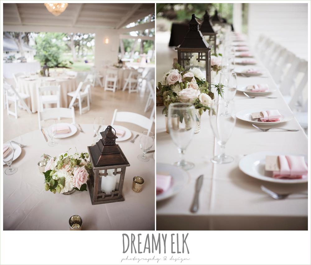 outdoor summer wedding reception table decorations,