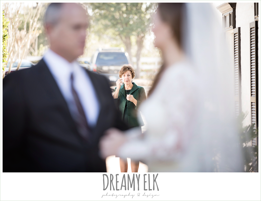 bride's grandmother crying at wedding, morning winter january wedding, ashelynn manor {dreamy elk photography and design}