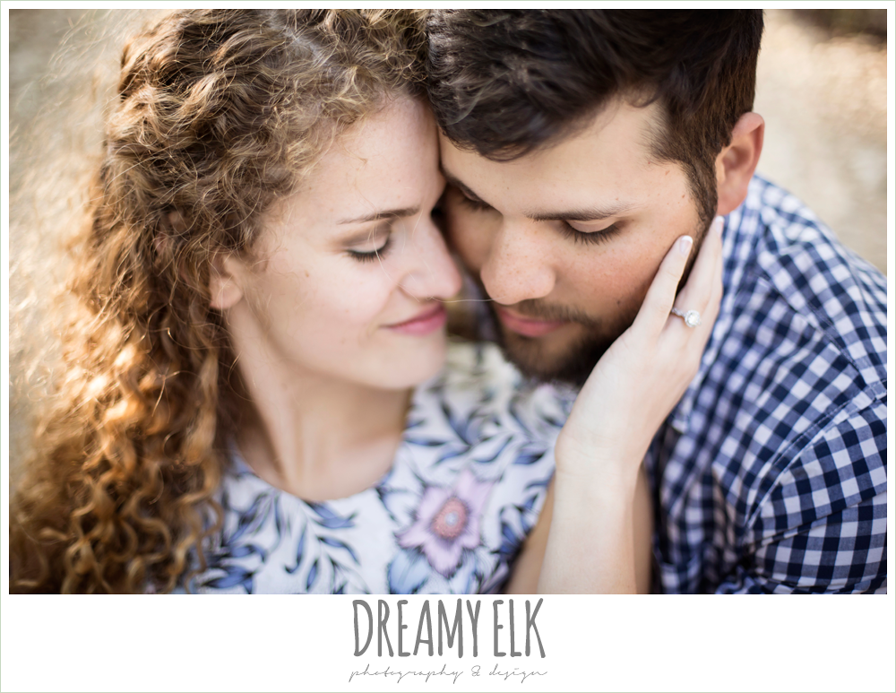 outdoor spring farm engagement photo, austin, texas {dreamy elk photography and design}