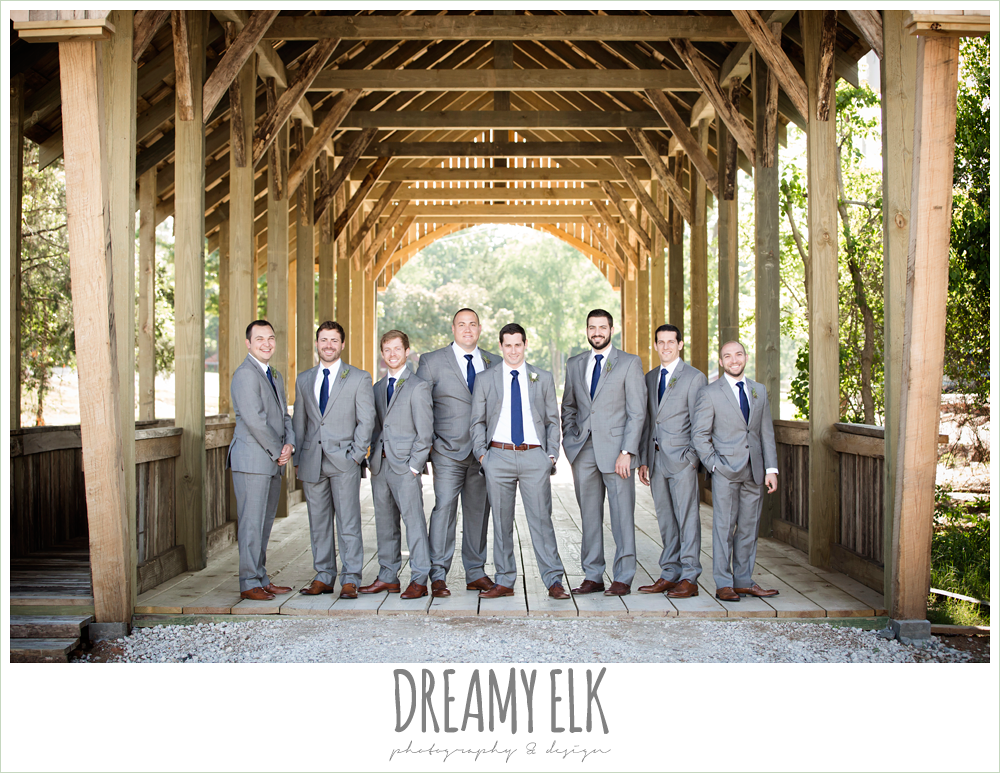 gray suit with navy tie, rustic chic, spring wedding photo, big sky barn, montgomery, texas {dreamy elk photography and design}