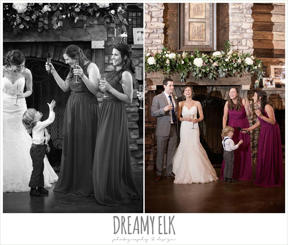 toasts at wedding reception, wedding reception decorations, rustic chic, spring wedding photo, big sky barn, montgomery, texas {dreamy elk photography and design}