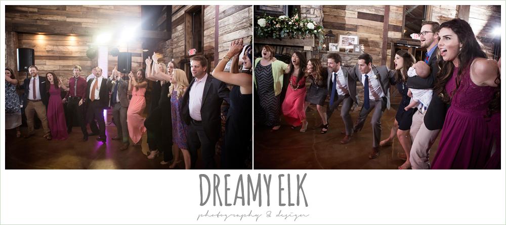 aggie war hymn at wedding reception, rustic chic, spring wedding photo, big sky barn, montgomery, texas {dreamy elk photography and design}