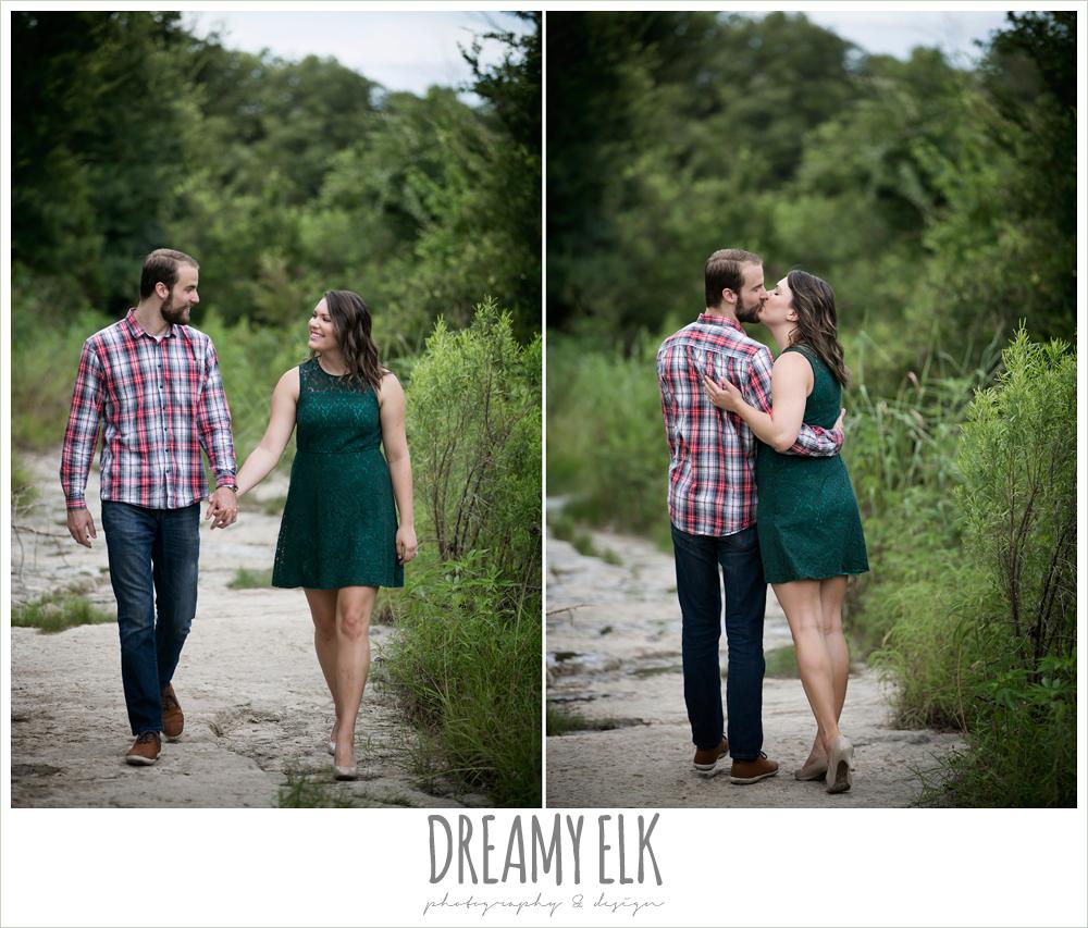 outdoor june engagement photo, bull creek park, austin, texas {dreamy elk photography and design}