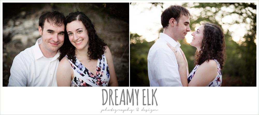 mckinney falls state park, summer engagement photo, austin, texas {dreamy elk photography and design}