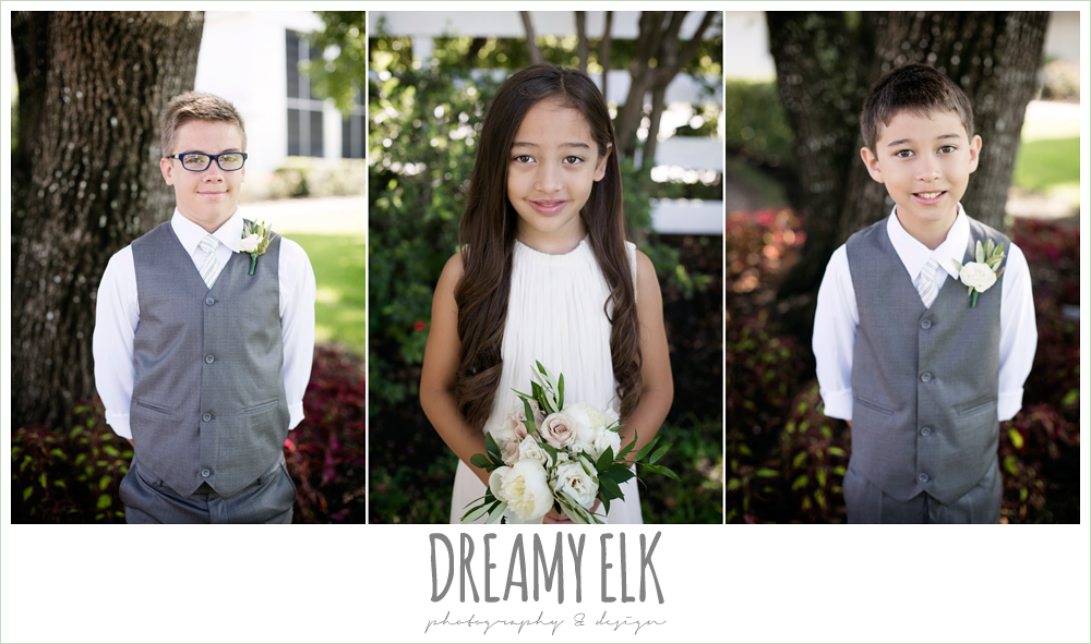 jcrew girls dresses and boys suits, july summer morning wedding, ashelynn manor, magnolia, texas {dreamy elk photography and design} photo
