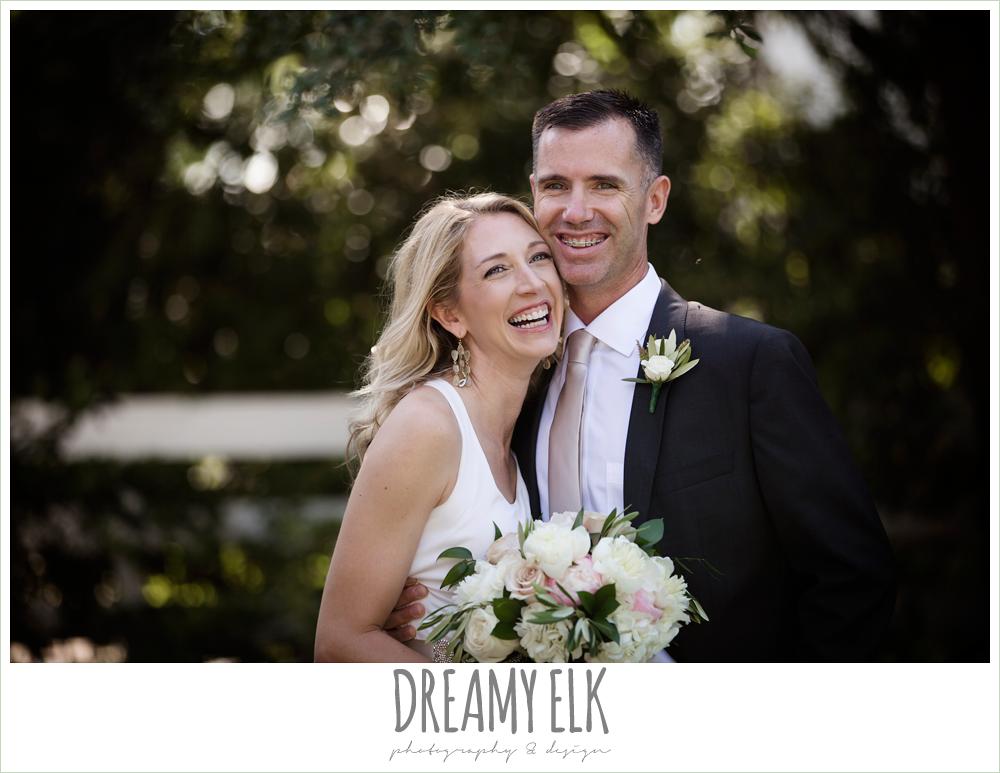 outdoor bride and groom photo, hugo boss groom's suit, july summer morning wedding, ashelynn manor, magnolia, texas {dreamy elk photography and design}