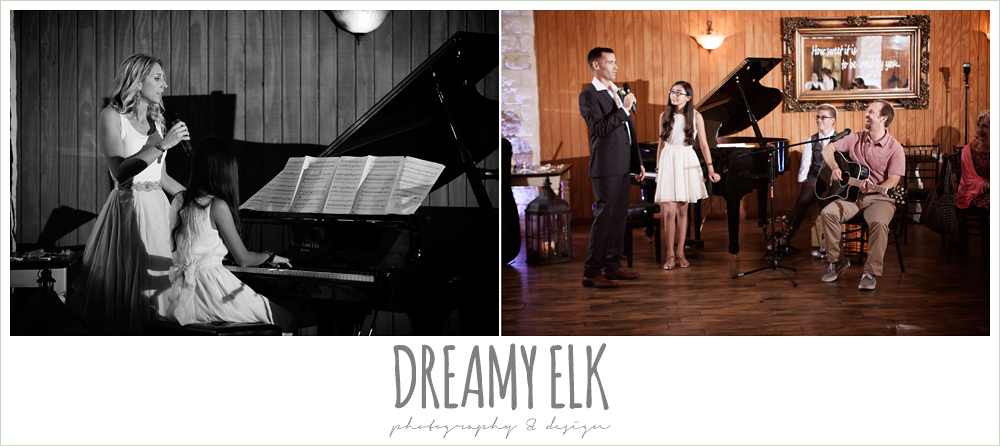 houston piano company, special music at wedding reception, july summer morning wedding, ashelynn manor, magnolia, texas {dreamy elk photography and design} photo