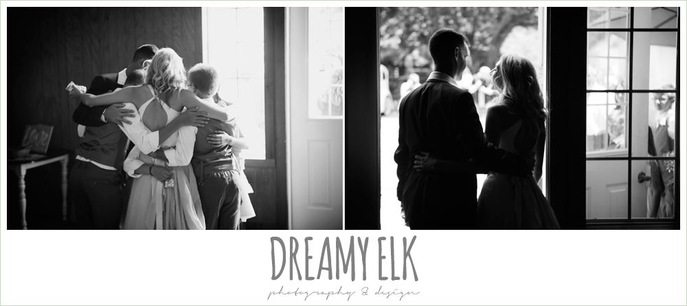 bride and groom leaving wedding, july summer morning wedding, ashelynn manor, magnolia, texas {dreamy elk photography and design} photo