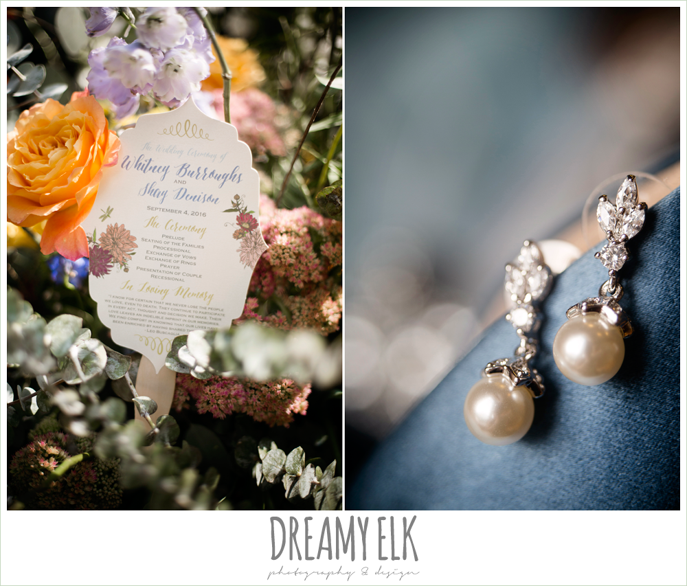 my urban invites wedding program fan with butterflies and flowers, Plans n' Petals wedding bouquet, colorful outdoor sunday morning brunch wedding, hyatt hill country club, san antonio wedding photo {dreamy elk photography and design}