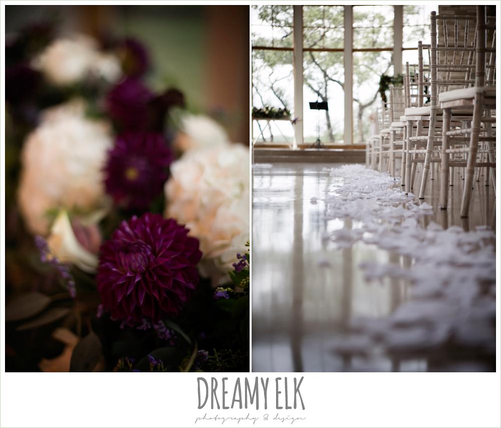 purple and gold wedding, fall rainy wedding, canyonwood ridge, dripping springs, texas, photo {dreamy elk photography and design}