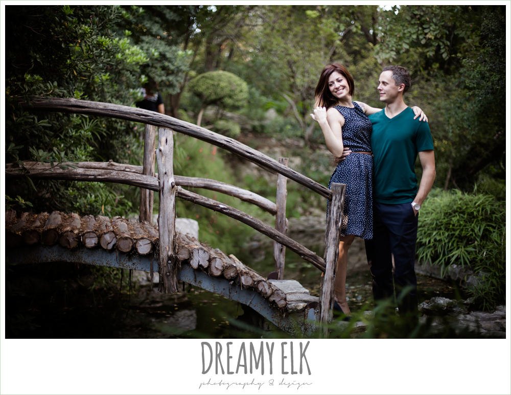 zilker botanical garden, downtown austin texas engagement photo {dreamy elk photography and design}