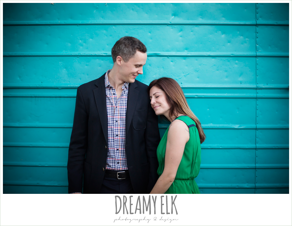 downtown austin texas engagement photo, colorful, urban engagement photo {dreamy elk photography and design}