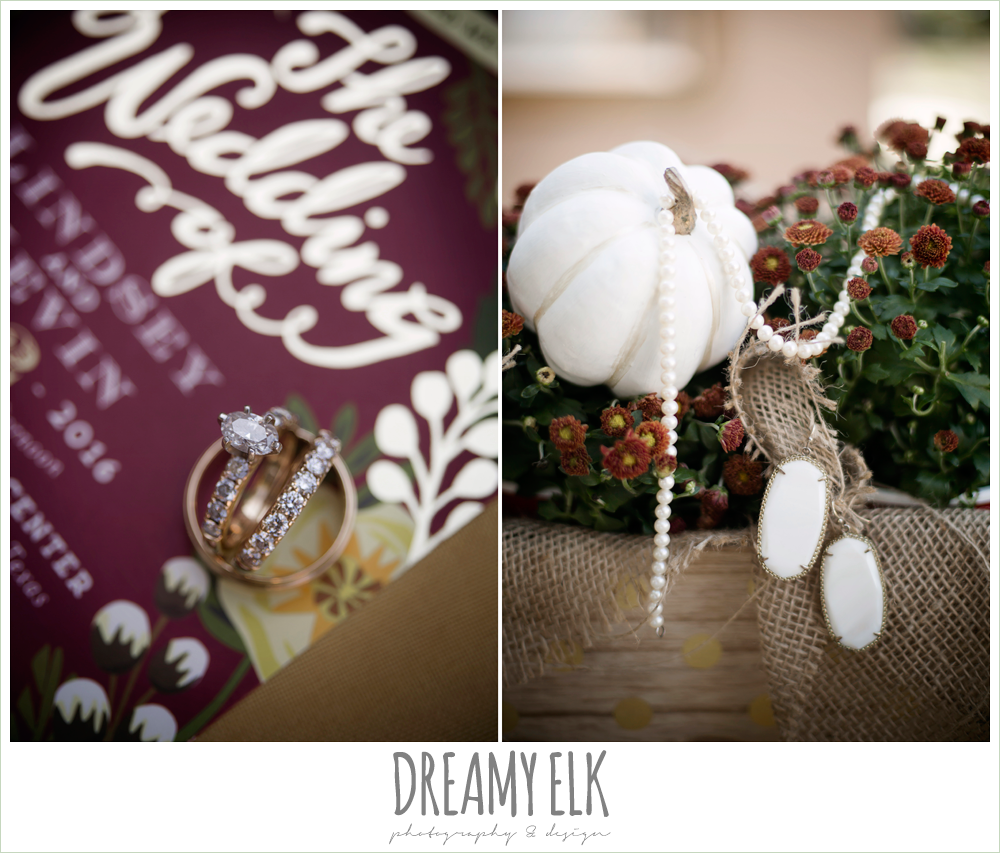 minted wedding invitation, wild bunches floral, wedding jewelry, kendra scott earrings, wedding invitation, fall wedding photo, la hacienda, dripping springs, texas {dreamy elk photography and design}