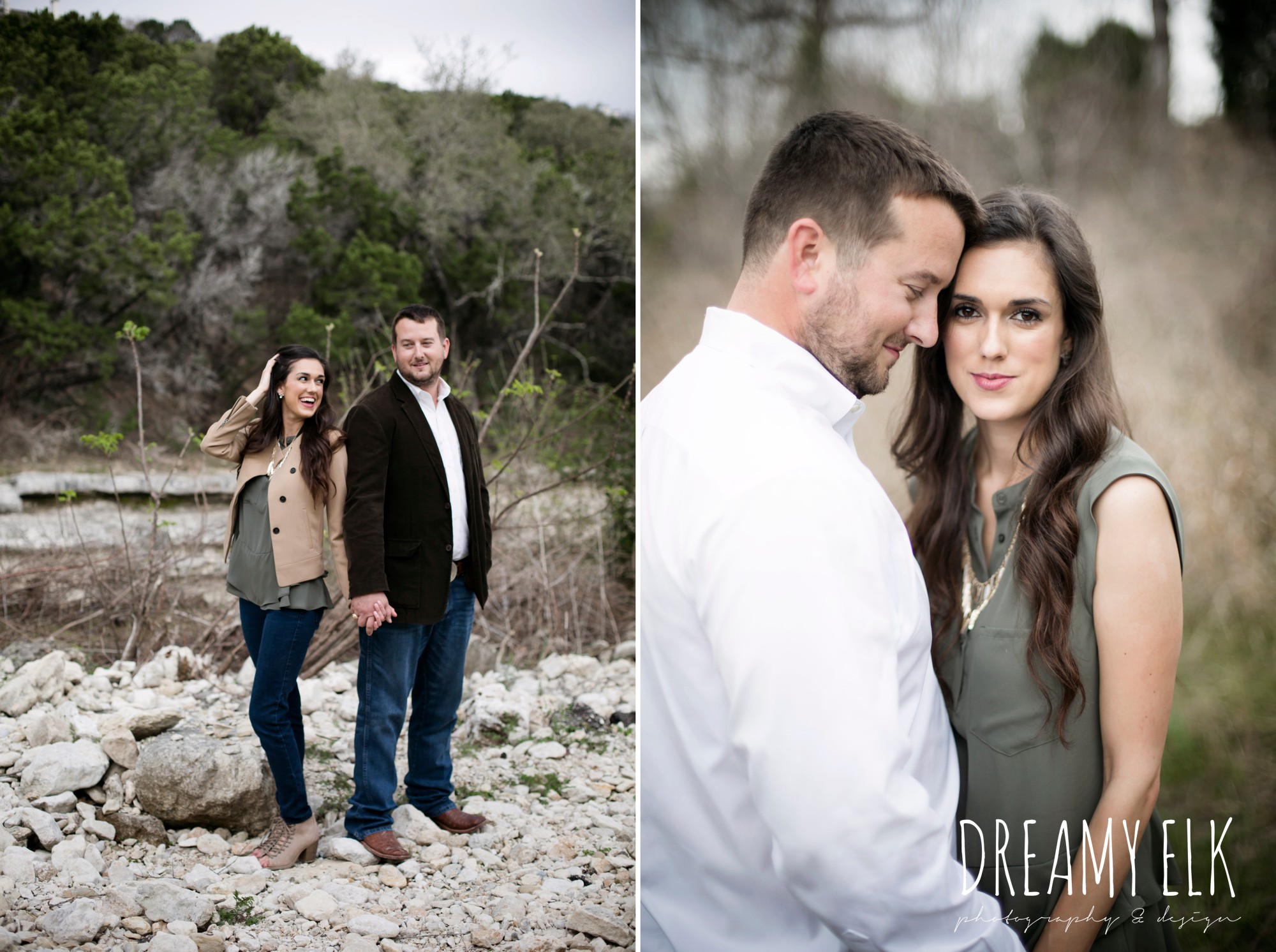 fun anniversary photo shoot, bull creek park, austin, texas {dreamy elk photography and design}