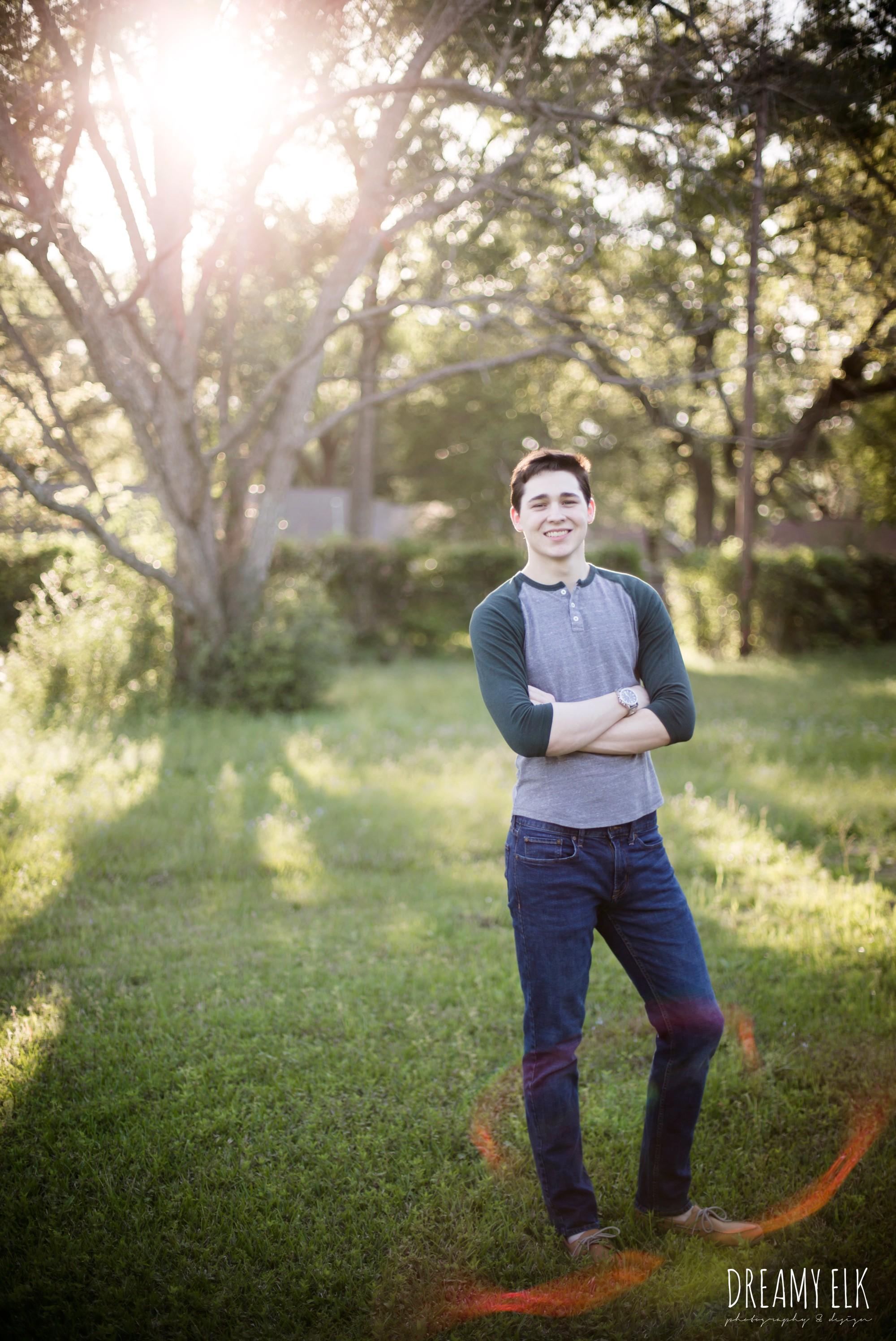 spring, march, high school senior boy, senior photo, tomball, texas {dreamy elk photography and design}