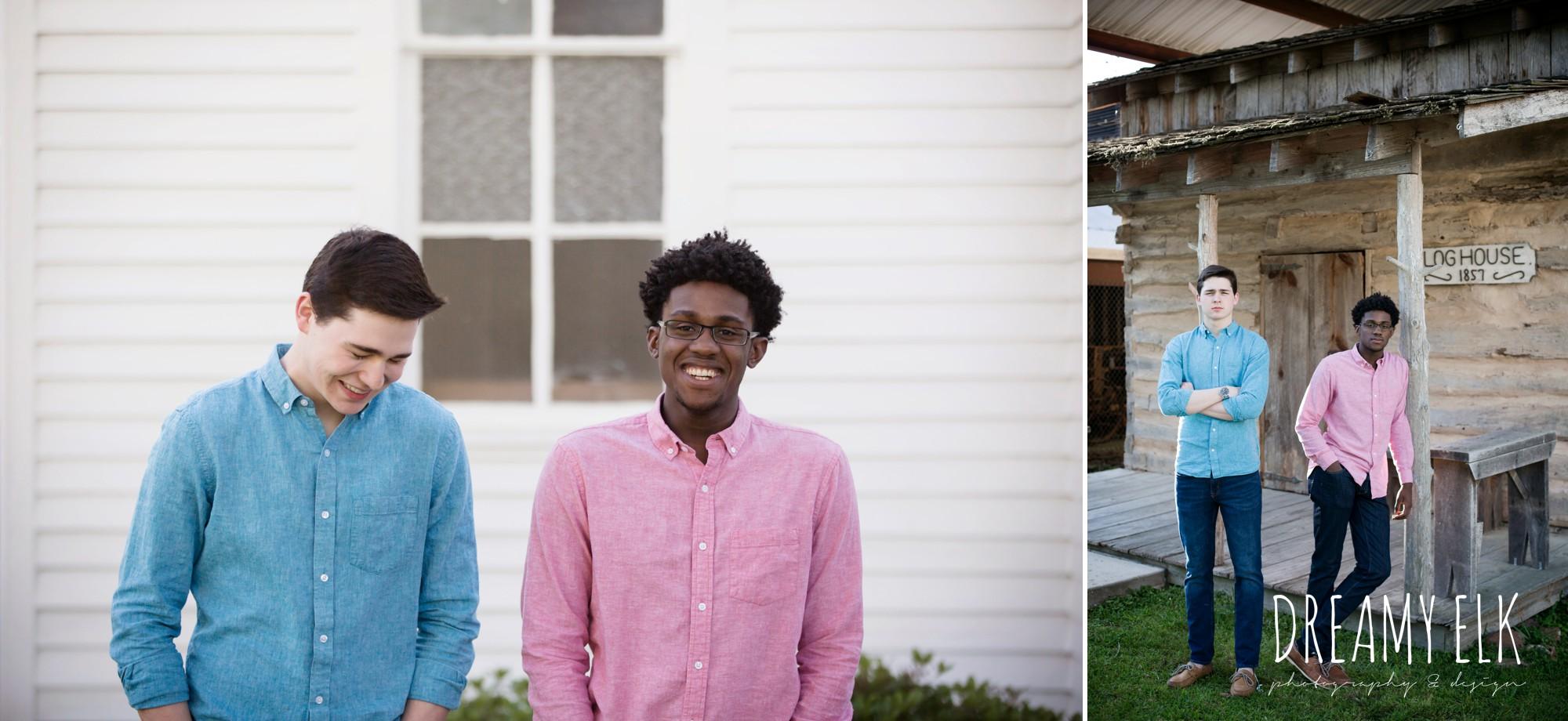 spring, march, high school senior boy, best friends, senior photo, tomball, texas {dreamy elk photography and design}