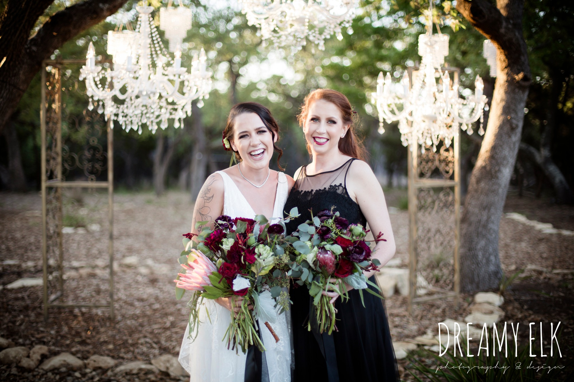 the cedars ranch, libby cole creations, saint isabel bridal, melange bridal, glam gone good, intelligent lighting design, moody rich delicate marfa inspired burgundy maroon black white spring styled wedding photo shoot {dreamy elk photography and design}