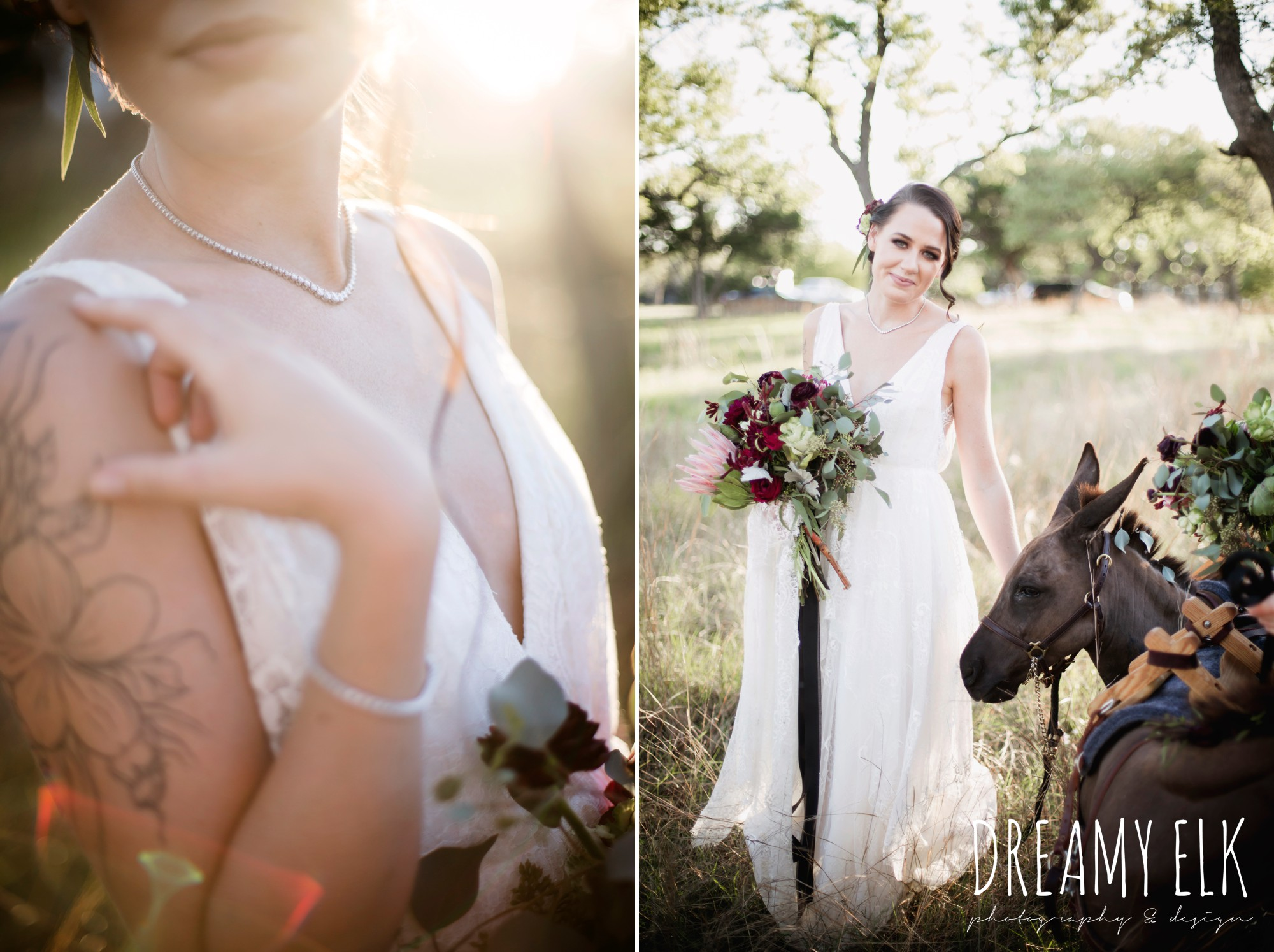 kirk root designs, the cedars ranch, libby cole creations, saint isabel bridal, melange bridal, glam gone good, ears with beers, moody rich delicate marfa inspired burgundy maroon black white spring styled wedding photo shoot {dreamy elk photography and design}