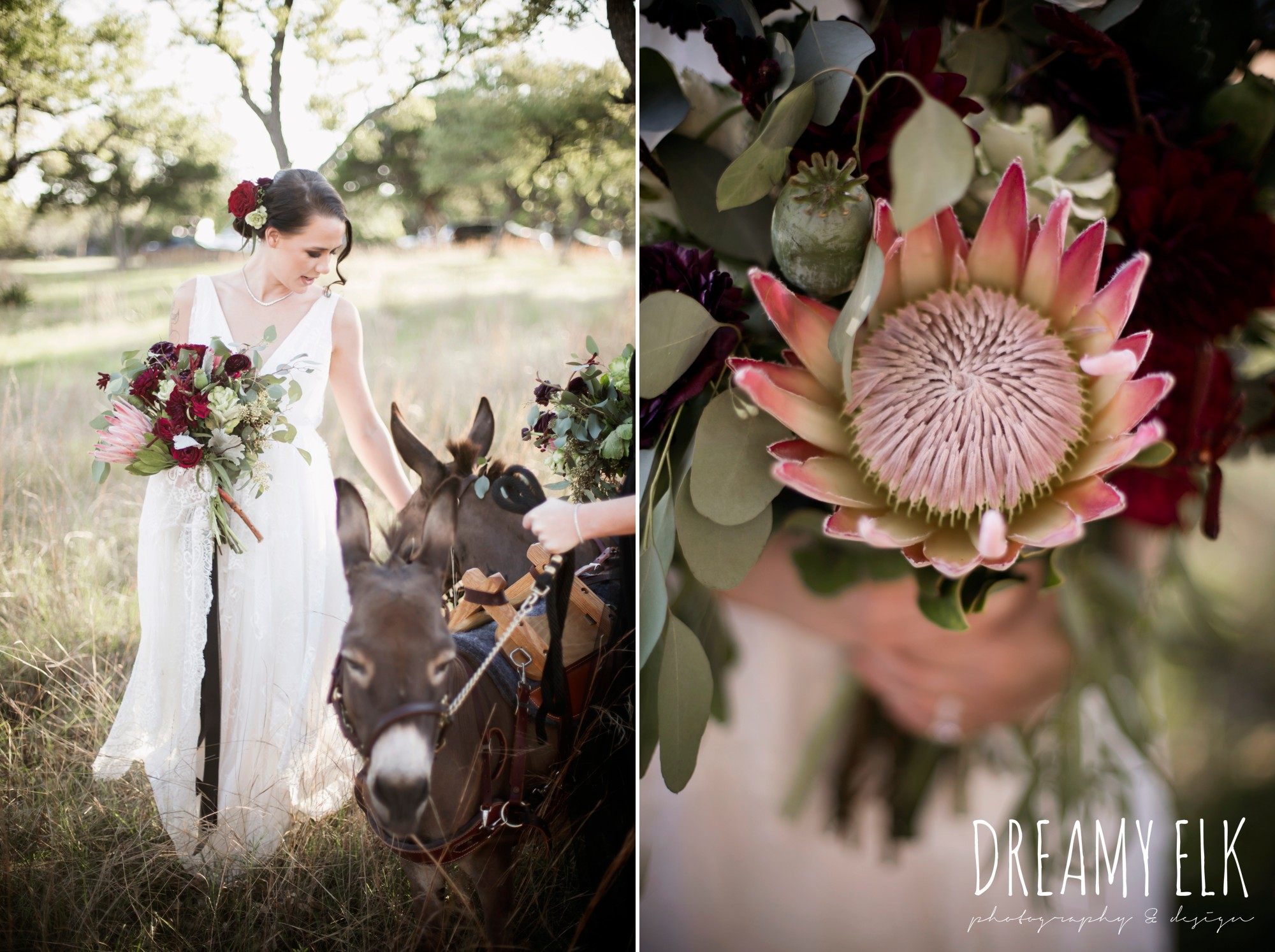 the cedars ranch, libby cole creations, saint isabel bridal, melange bridal, glam gone good, moody rich delicate marfa inspired burgundy maroon black white spring styled wedding photo shoot {dreamy elk photography and design}