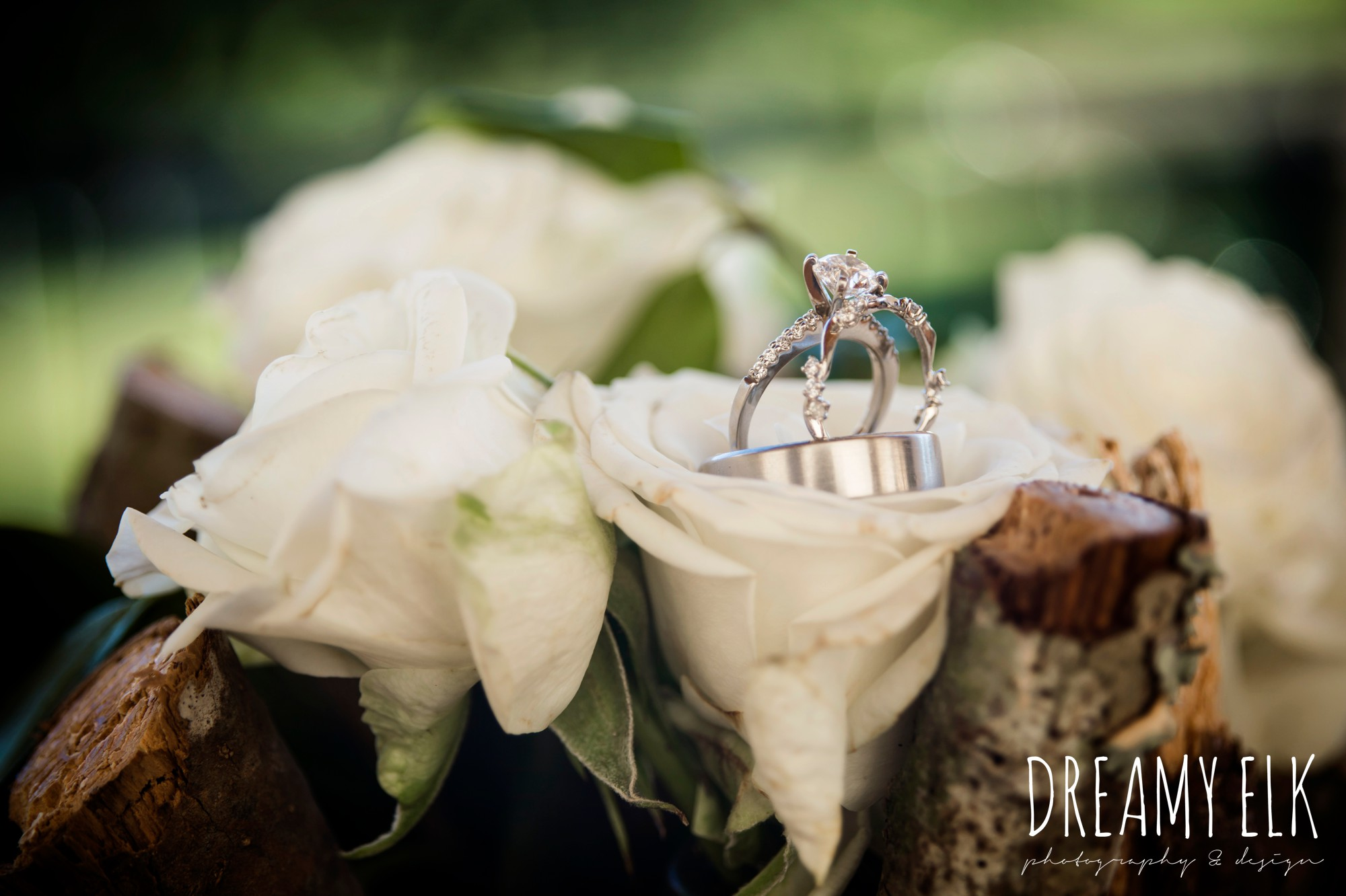 diamond engagement ring, wedding jewelry, outdoor spring april wedding photo, chapel dulcinea ceremony, dripping springs, texas {dreamy elk photography and design}