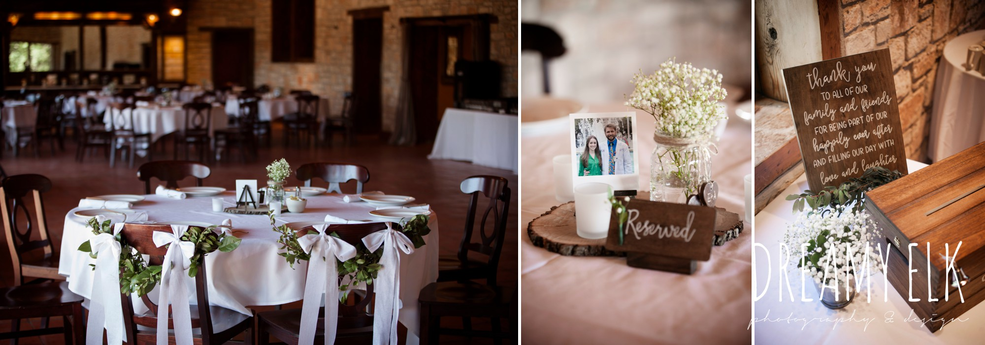 wooden wedding signs, calligraphy, table centerpieces, outdoor spring april wedding photo, thurman's mansion, dripping springs, texas {dreamy elk photography and design}