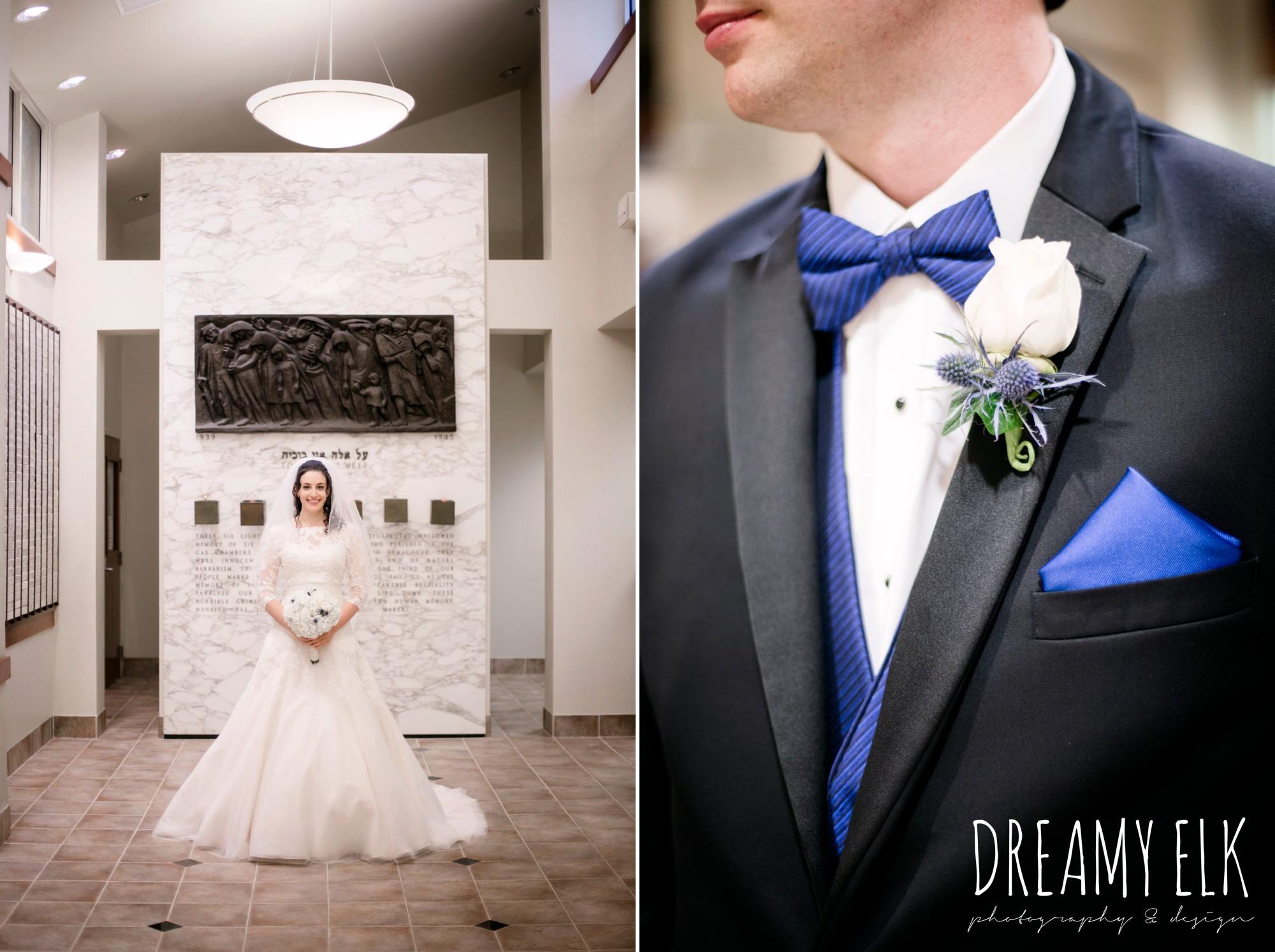 bride, essence of australia wedding dress, groom, michael kors suit, jewish wedding ceremony, summer june jewish wedding photo {dreamy elk photography and design}
