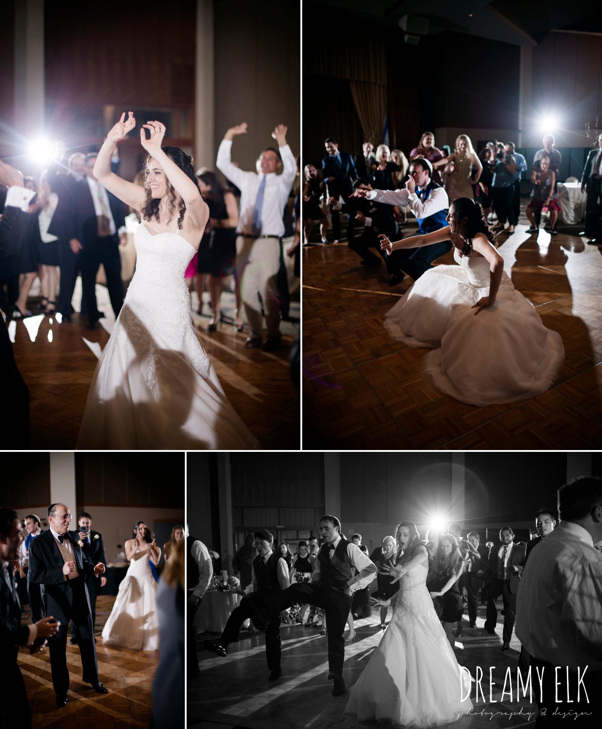 guests dancing, summer june jewish wedding photo {dreamy elk photography and design}