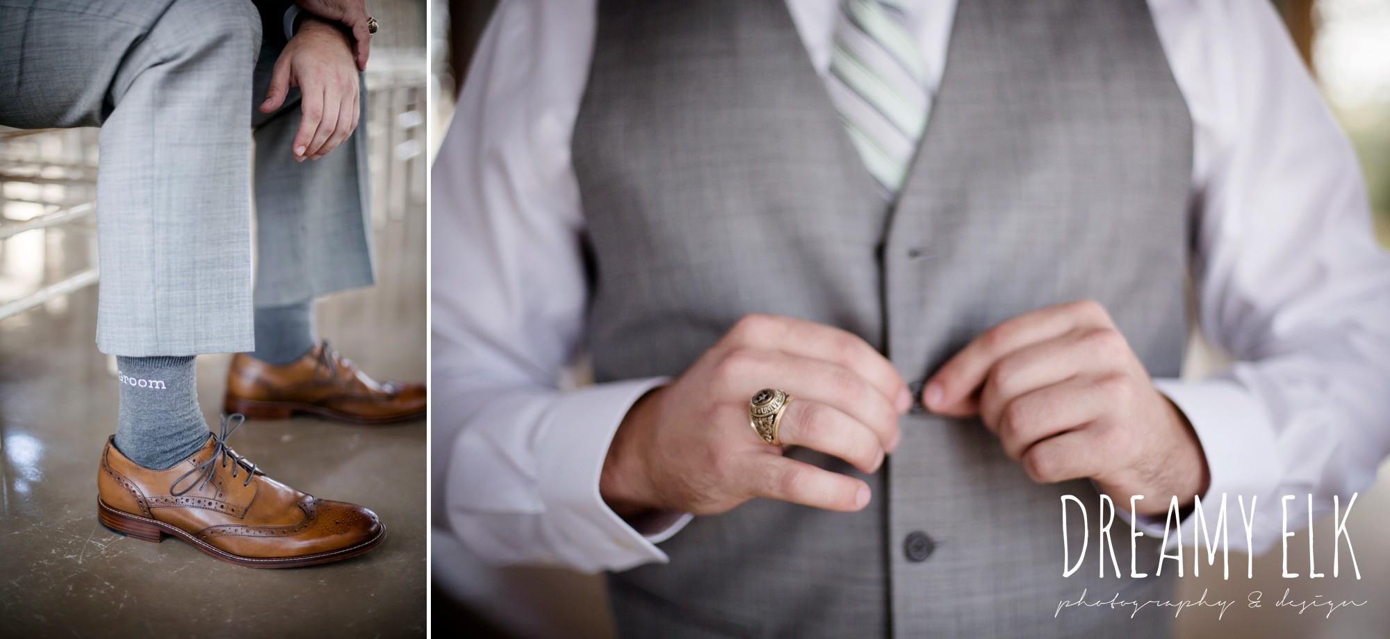 groom socks, mens wearhouse, summer july wedding photo, canyonwood ridge, dripping springs, texas {dreamy elk photography and design}