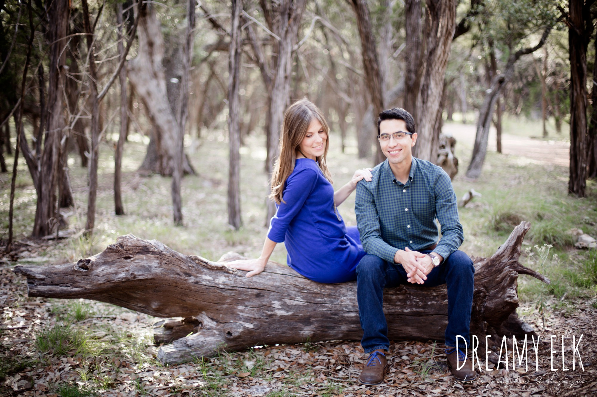 fall maternity photo, anniversary photo, blue hole regional park, wimberley, austin, texas {dreamy elk photography and design}