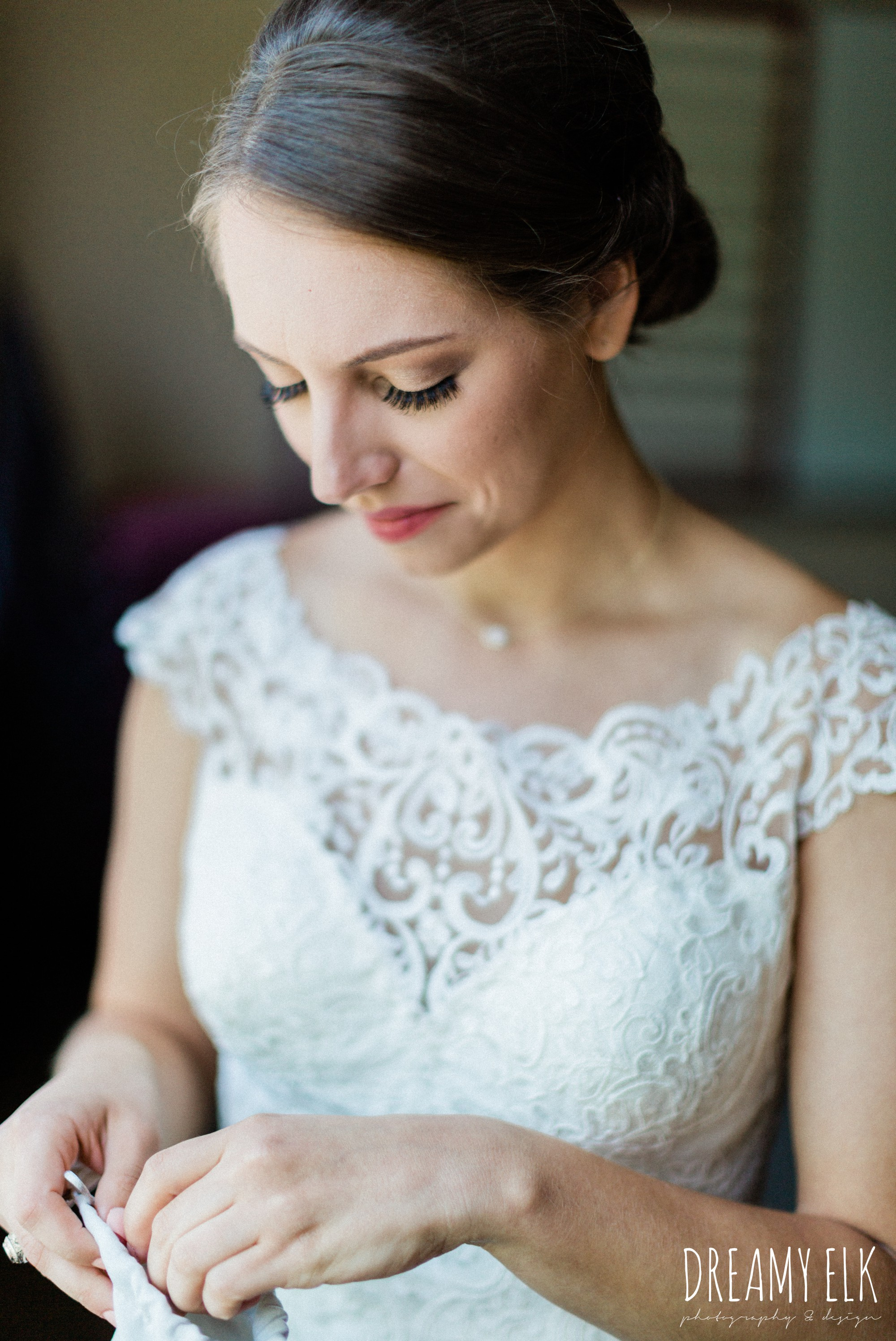 bride getting ready, essense of australia, spring wedding photo college station texas, dreamy elk photography and design
