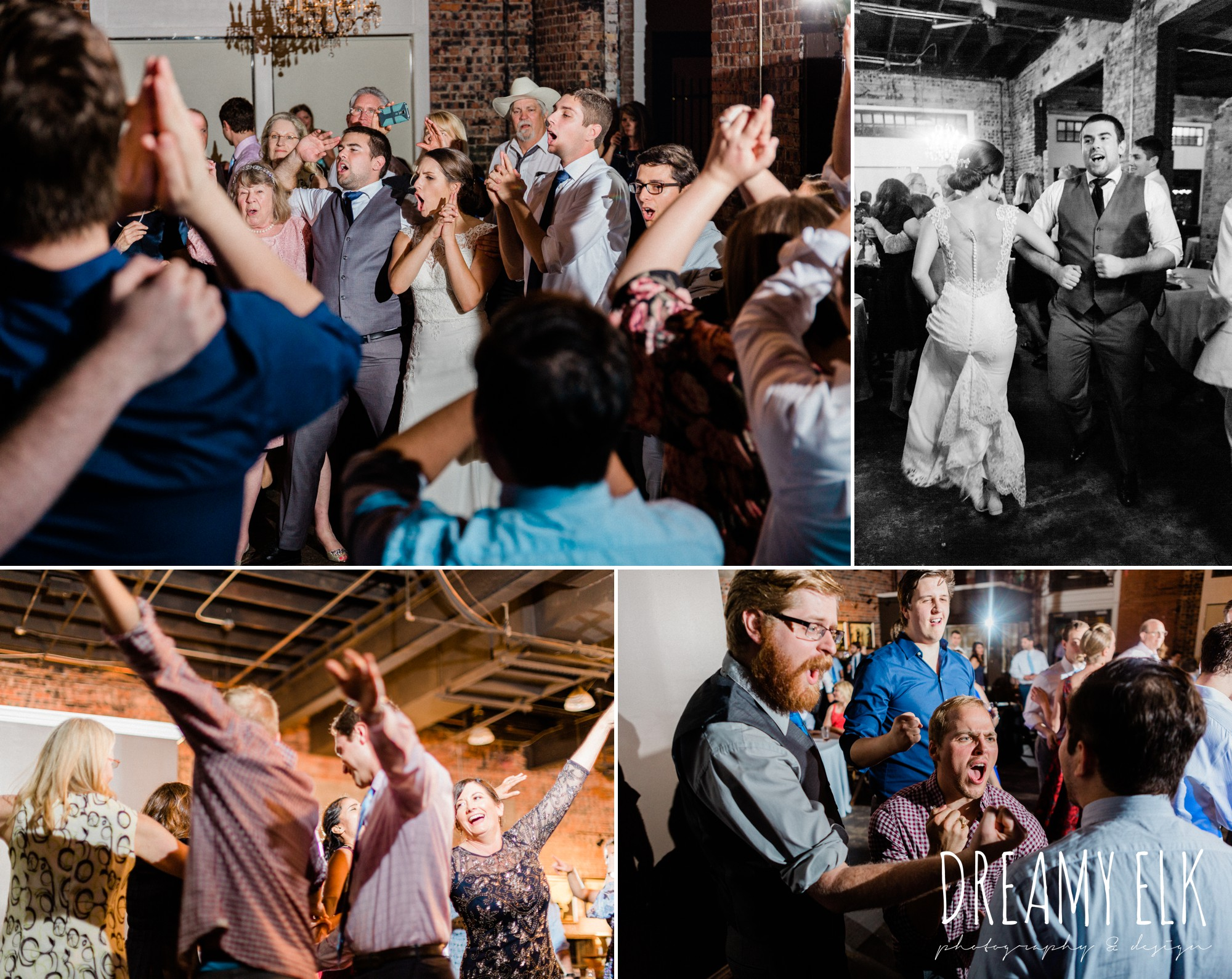 aggieland dj, wedding reception, ashley and company, downtown 202, unforgettable floral, spring wedding photo college station texas, dreamy elk photography and design