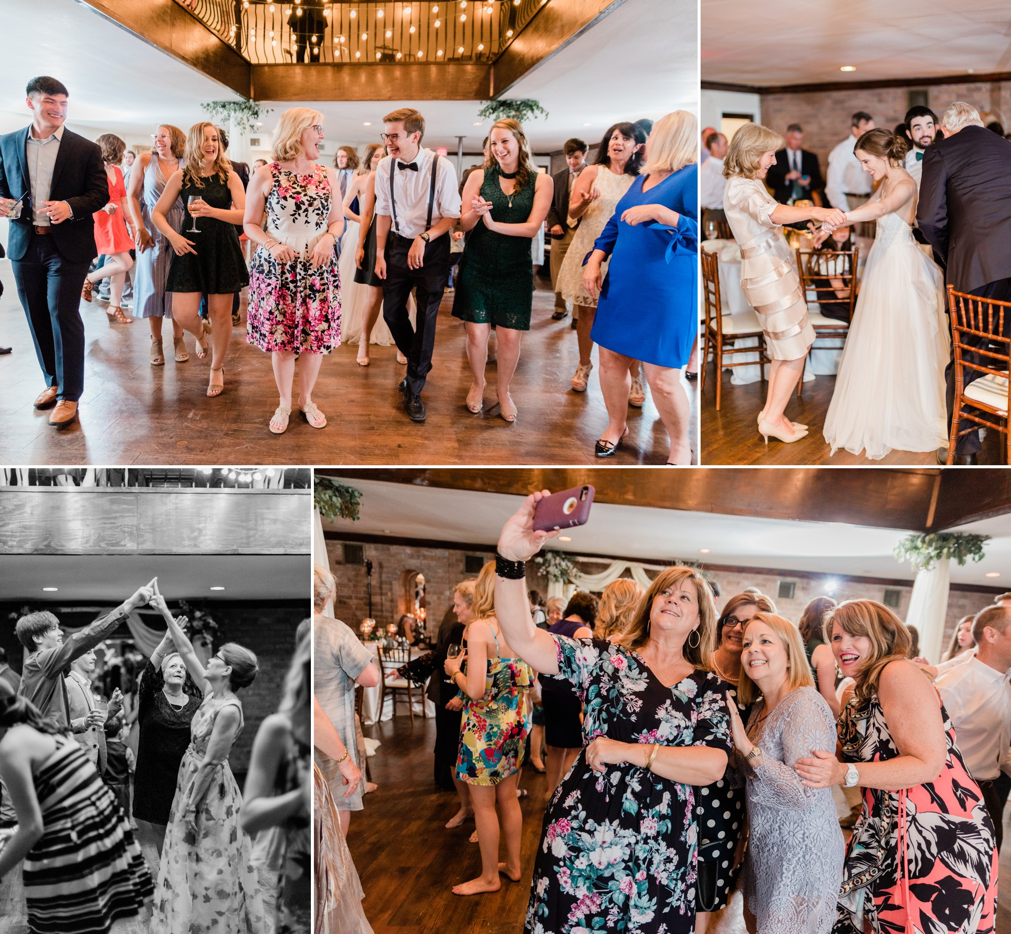 wedding guests dancing, spring wedding photo, the gallery, houston, texas, dreamy elk photography and design