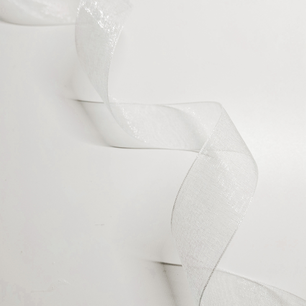 "white organdy (1"") (discontinued)"