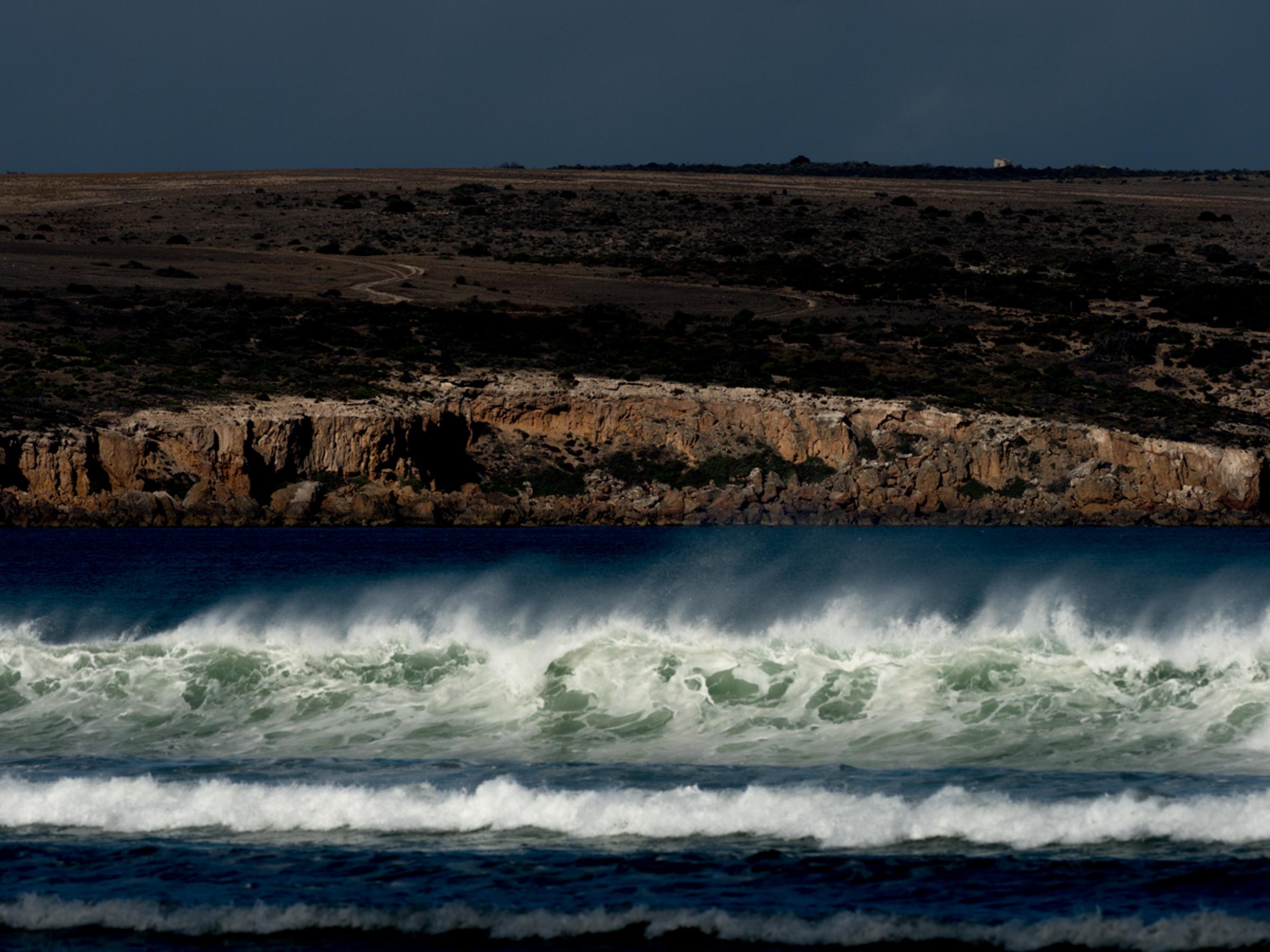 Sceale Bay looking towards Cape Blanche